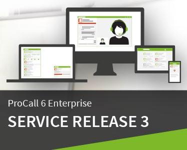 ProCall 6 Enterprise: Service Release 3