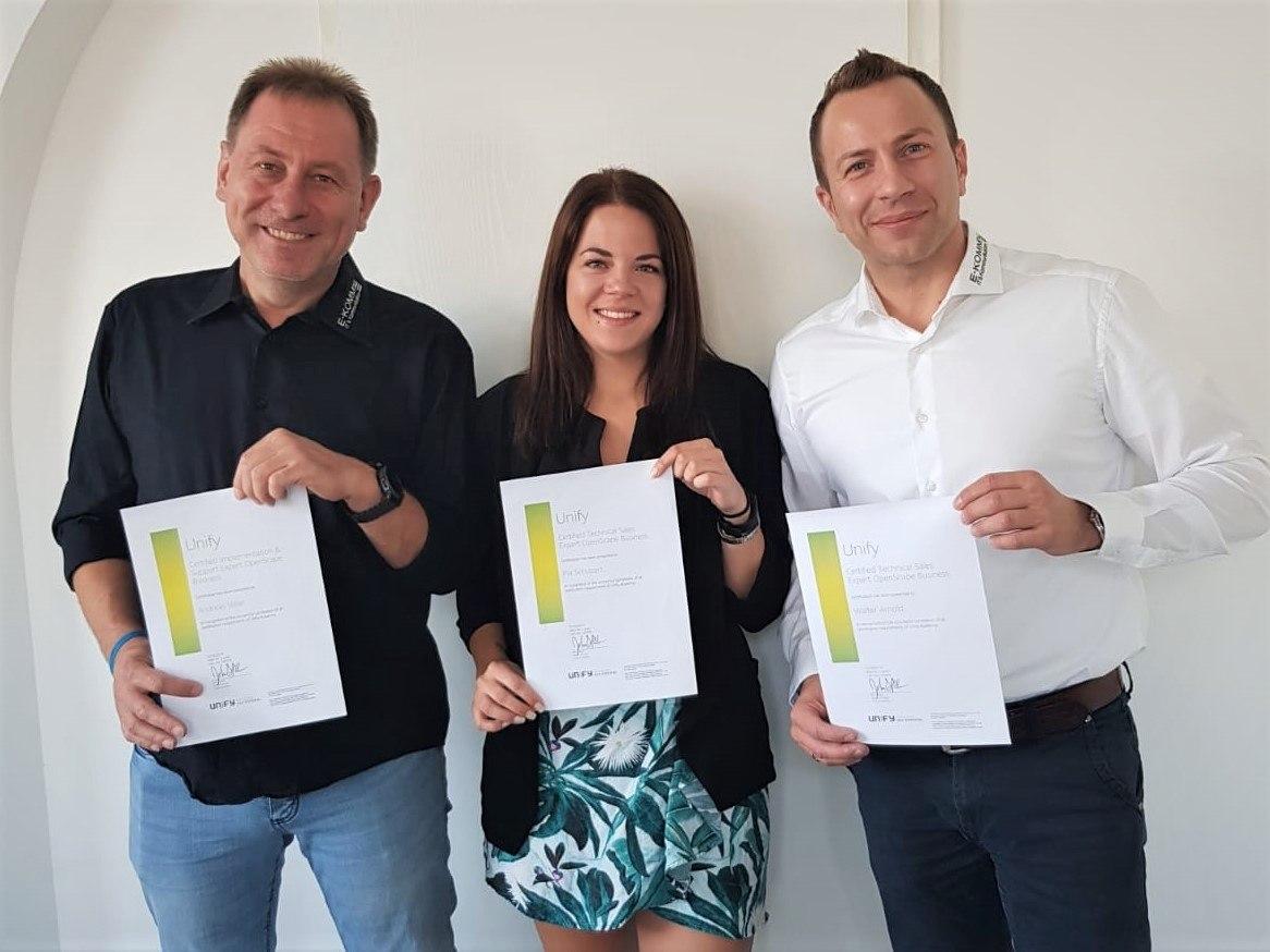 Neue Unify-Zertifizierungen für E-KOMM