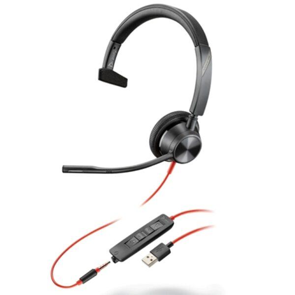 Blackwire 3315 -M USB- A