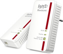 AVM FRITZ!Powerline 1240E WLAN Set 1200 MBit 2er KIT (1x LAN)